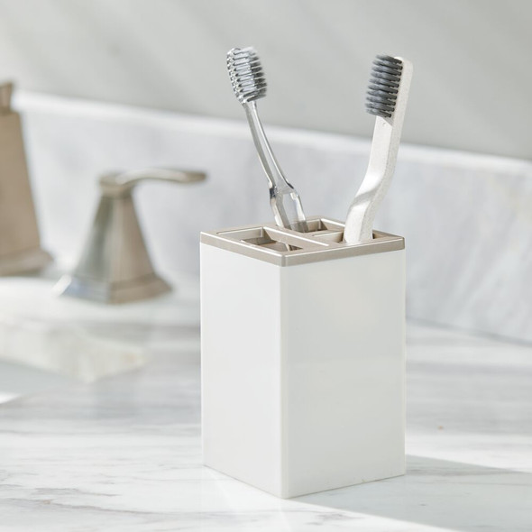 Plastic Bathroom Toothbrush, Toothpaste Stand Holder