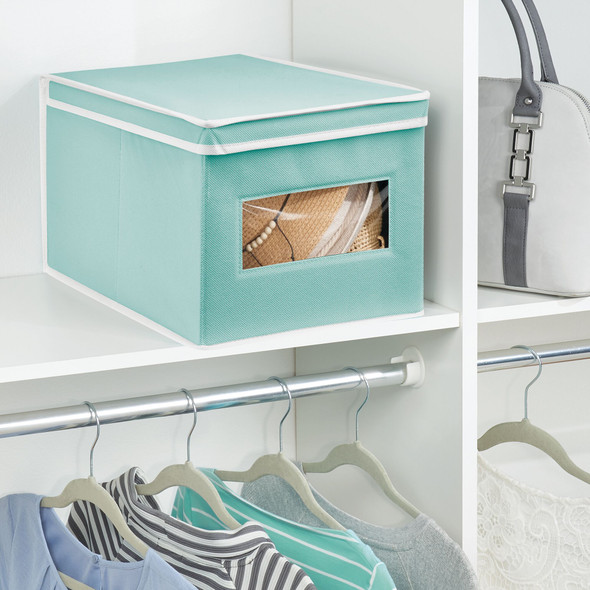 Fabric Closet Storage Boxes - Pack of 4