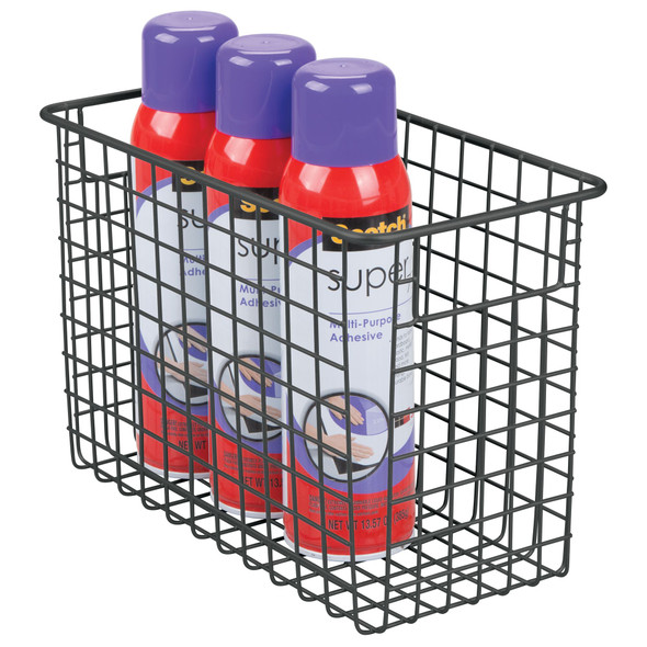 Wire Office Baskets for Office Storage - Pack of 2
