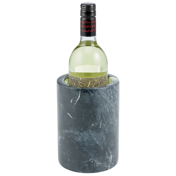 Marble Tabletop Single Bottle Wine Cooler and Chiller