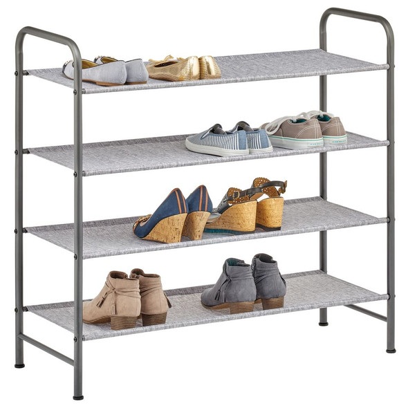 4 Tier Fabric Shoe Rack