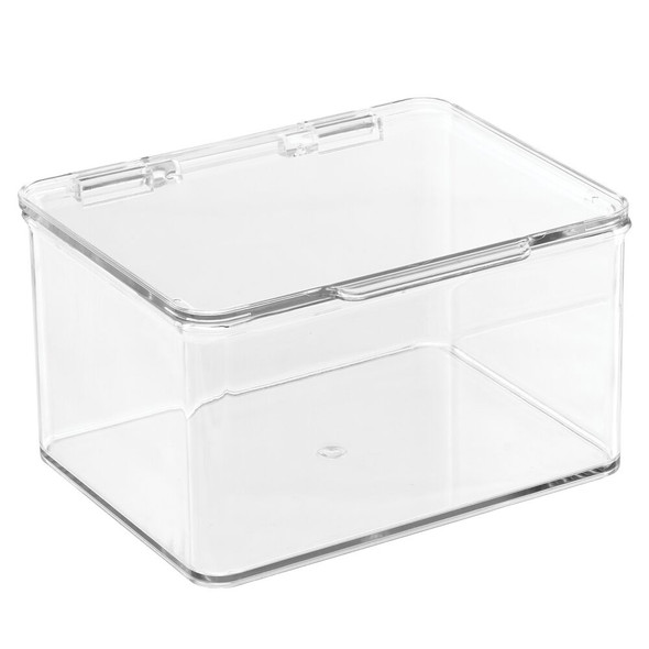 Plastic Stackable Toy Bins with Lid