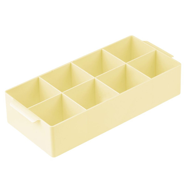 8 Compartment Cosmetic Organizer with Handles