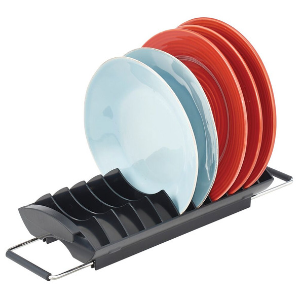 Compact Over Sink Dish & Bowl Drainer and Dryer Rack