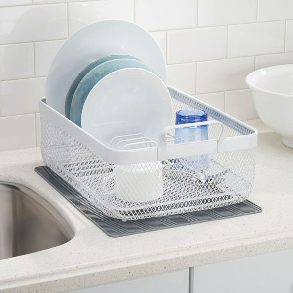 Modern Kitchen Dish Drying Rack with Handles