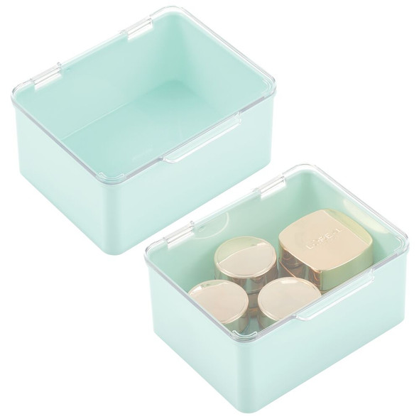 Plastic Stackable Cosmetic Storage Box