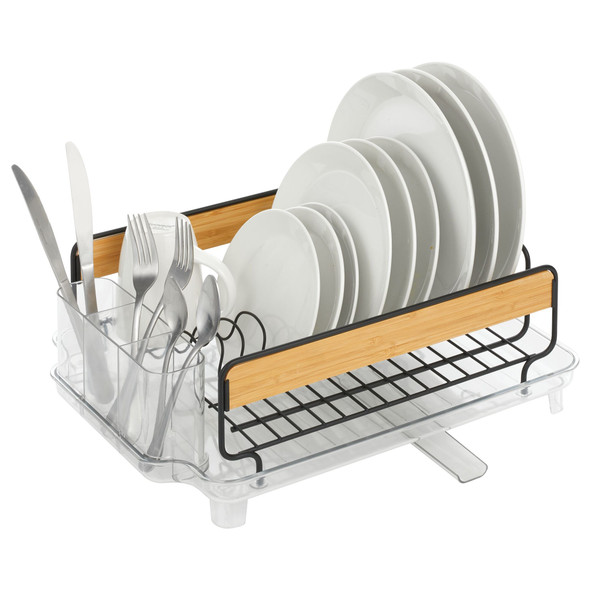 Large Metal Dish Drainer with 13 Compartments