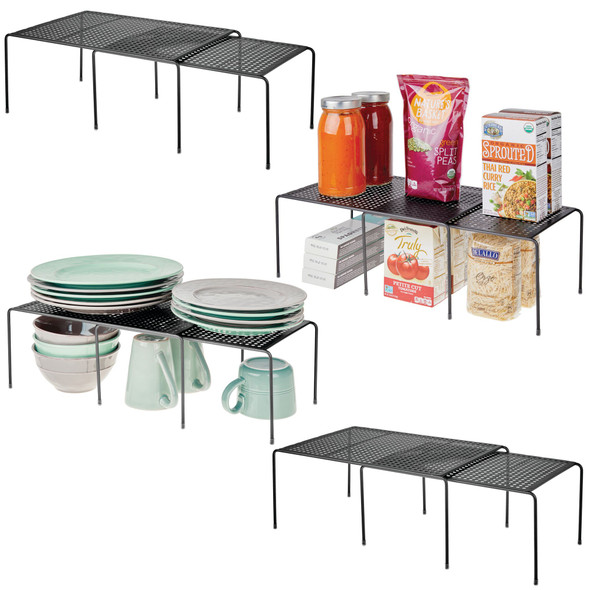 Steel Stacking Expandable Cabinet Shelves