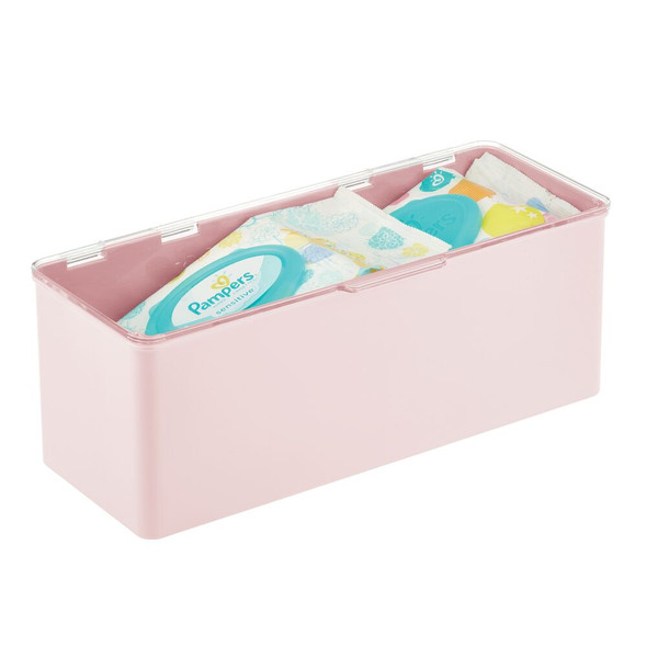 Plastic Stackable Home Storage Boxes with Lid