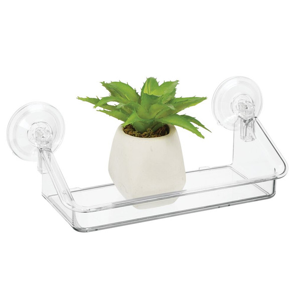 Small Household Suction Cup Window Shelf Holder
