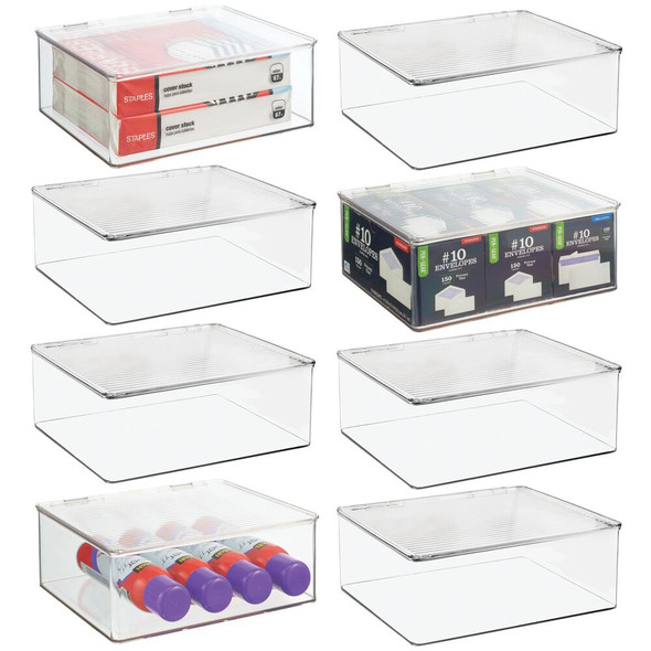 Toy Storage Box - Pack of 8