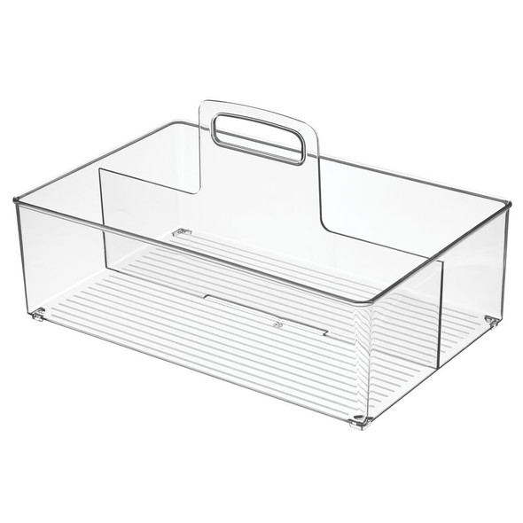 Plastic Laundry Storage Caddy with Handle