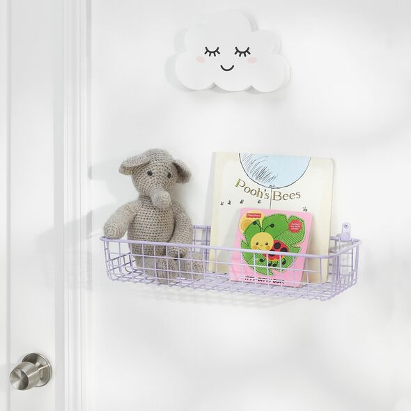 Small Wire Wall Mount Basket for Bath Storage