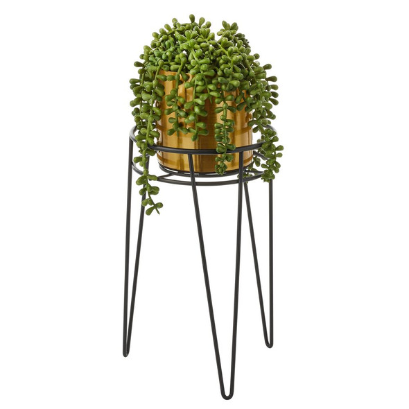 Midcentury Modern Wire Succulent Plant Stand