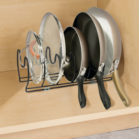 6 Section Steel Cookware Organizer - Pack of 2