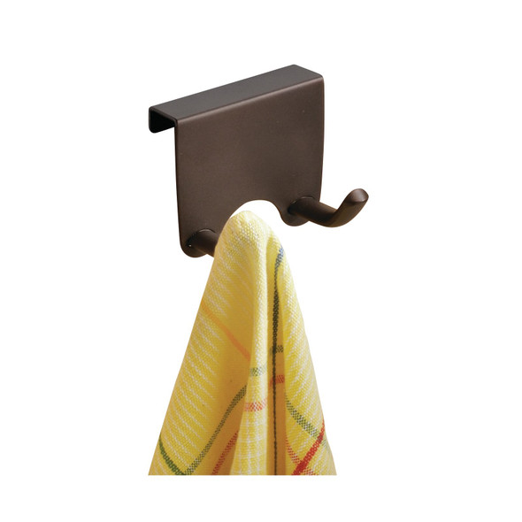 Metal Over Cabinet Hook Storage - Brown