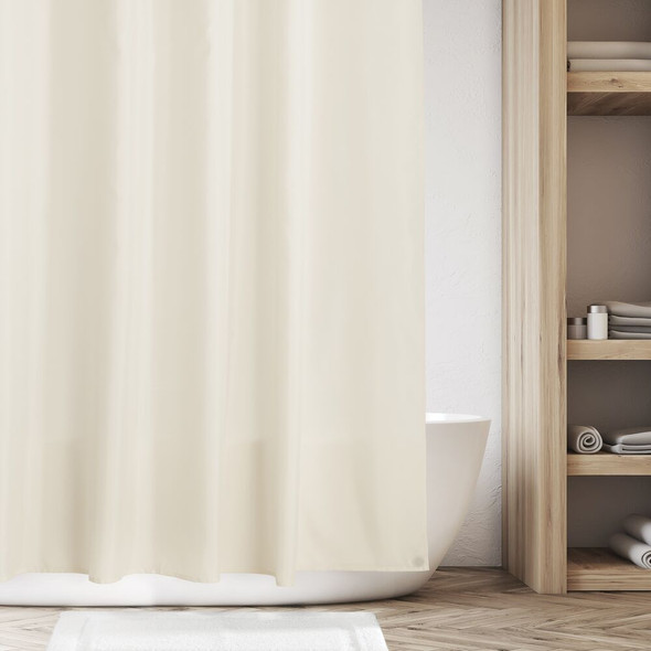 Water Repellent Polyester Shower Curtain Liner