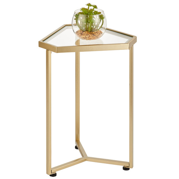 Modern Triangle Accent Table