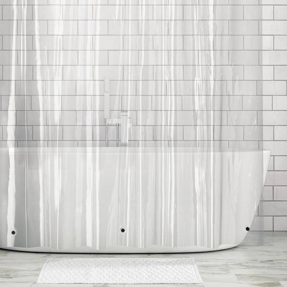 PEVA Shower Curtain Liners for Bath, Pack of 3