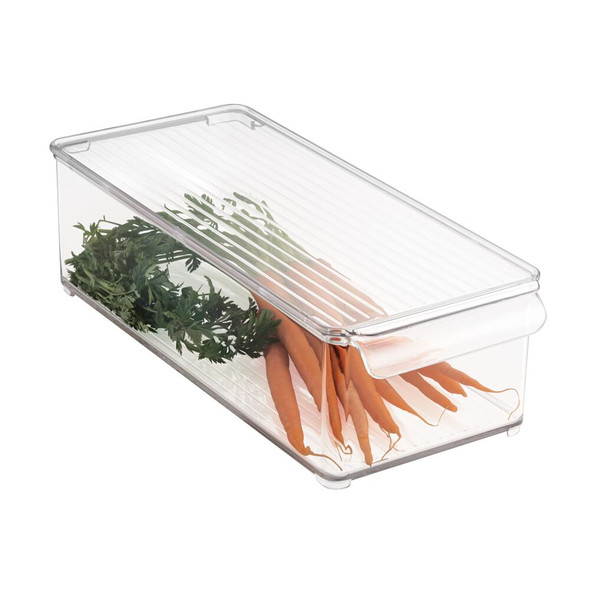 Plastic Kitchen Pantry / Food Storage Bin Box with Lid