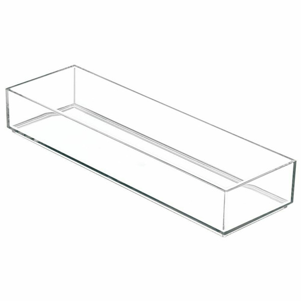 "Plastic Art + Craft Storage Tray - 12"" x 4"" x 2"""