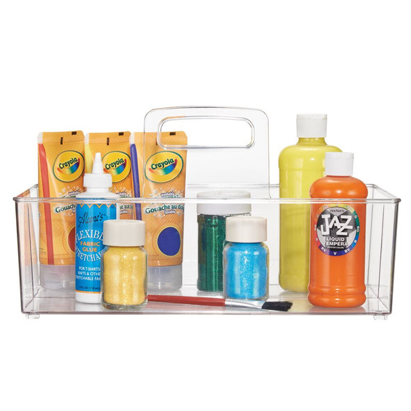 Large Plastic Caddy Tote for Craft & Sewing Storage 2S