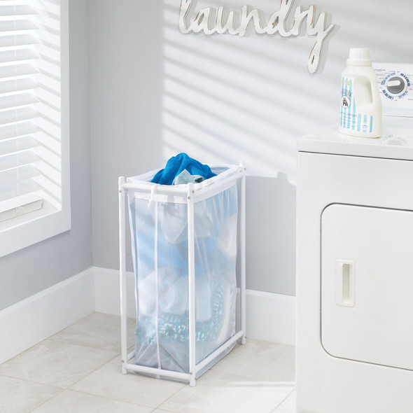 Laundry Clothes Hamper with Removable Mesh Bag