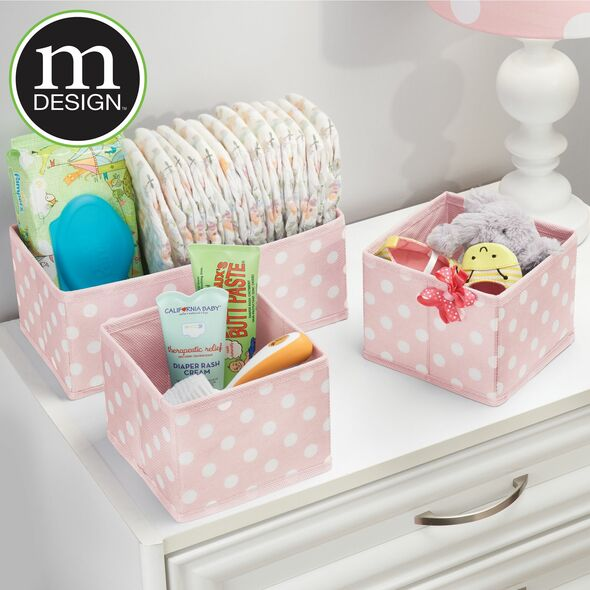 Fabric Closet Drawer Storage Organizers - Set of 5