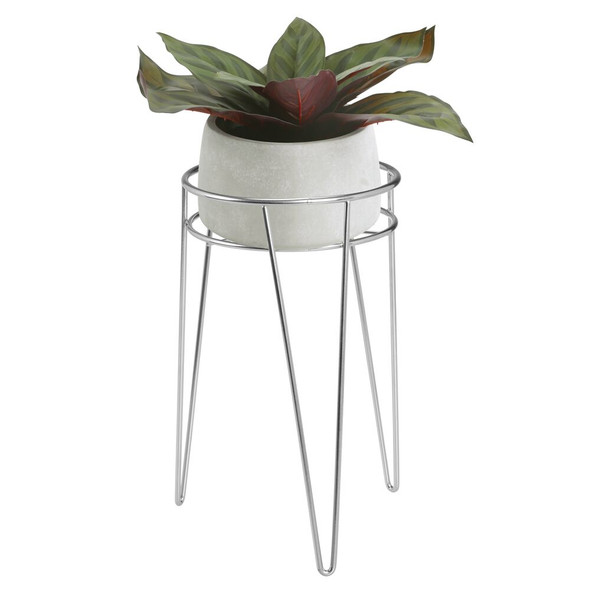 """Metal Midcentury Modern Plant Succulent Stand - 7"""" x 12"""""""