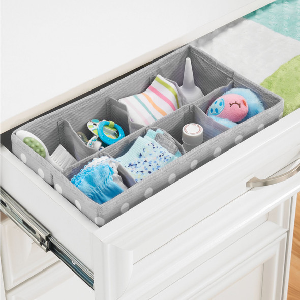 8 Section Kids Fabric Drawer Organizer