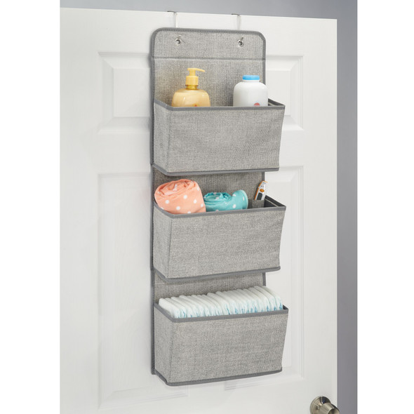 Over Door Fabric Hanging Nursery Storage Unit Organizer