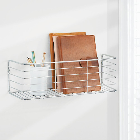 Metal Wall Mount Storage Organizer Display Shelf