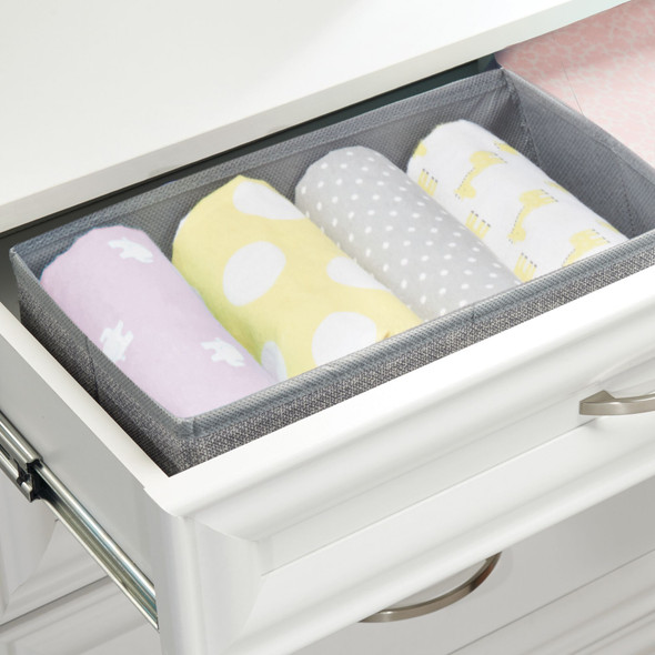 Baby + Kids Fabric Drawer Storage Organizers