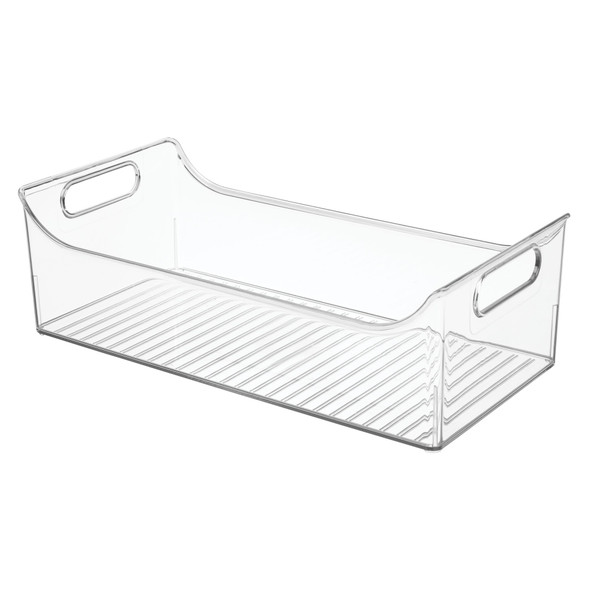 "Large Plastic Baby/Kids Room Storage Bin - 16"" x 8"" x 5"""