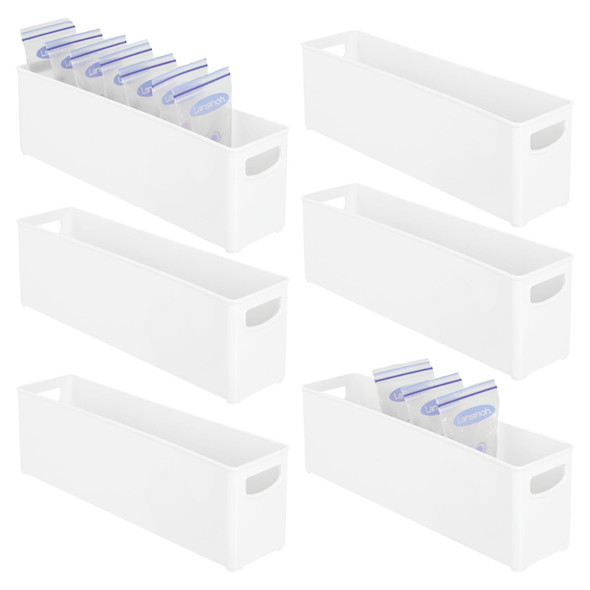 Plastic Breast Milk / Baby Formula Storage Bin