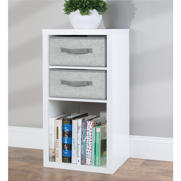 Fabric Home Storage Bin for Furniture Cubby Storage