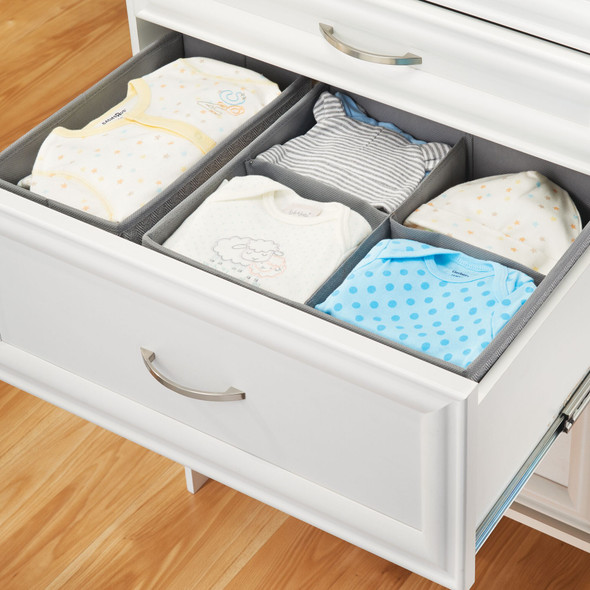 Kids Fabric Closet, Dresser - Drawer Storage Organizer