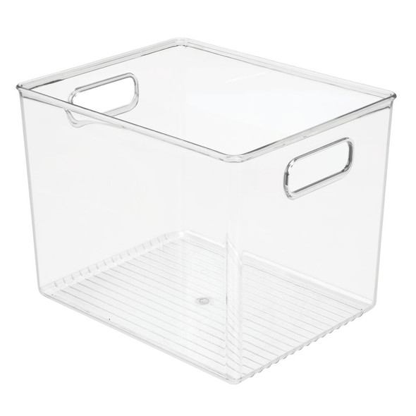 """Plastic Craft and Art Supplies Storage Box with Handles - 10"""" x 8"""" x 7.75"""""""