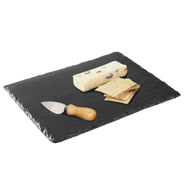 Slate Stone Serving Tray, Cheese Board, 4 Pack