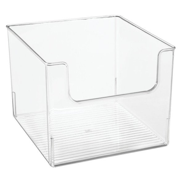 "Plastic Bin for Furniture Cubby Storage - 10"" x 10"" x 7.75"""
