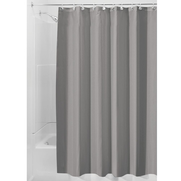 """Water Repellent Fabric Shower Curtain Liner - 108"""" x 72"""""""