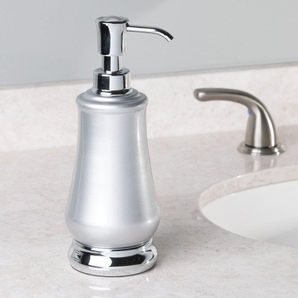 Decorative Metal Refillable Liquid - Soap Dispenser Pump