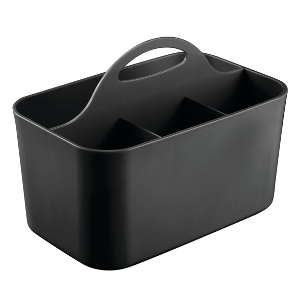 "Plastic Office Storage Desk Organizer Bin - 6"" x 9.75"" x 6.75"""
