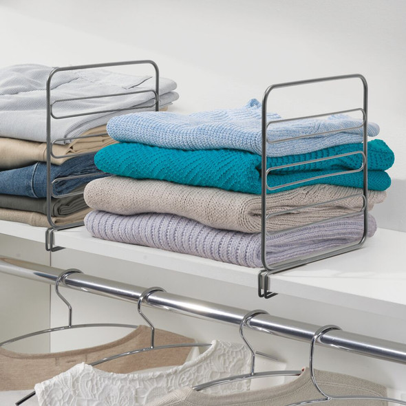 Metal Shelf Divider & Separator for Closet Storage