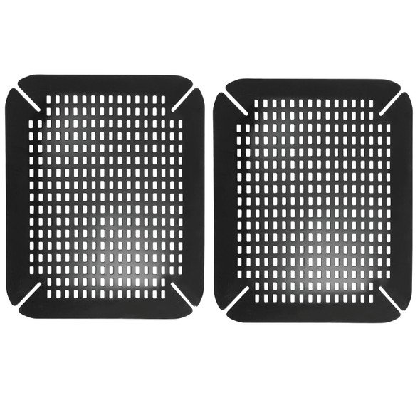 Extra Large Plastic Kitchen Sink Protector Mat With Diamond Pattern 12 X 25