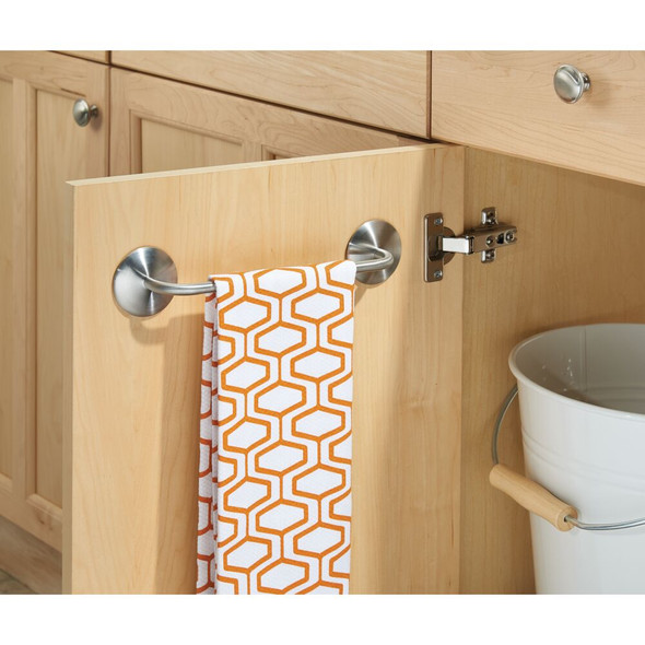 Adhesive Dish / Hand Towel Bar for Kitchen, Bathroom