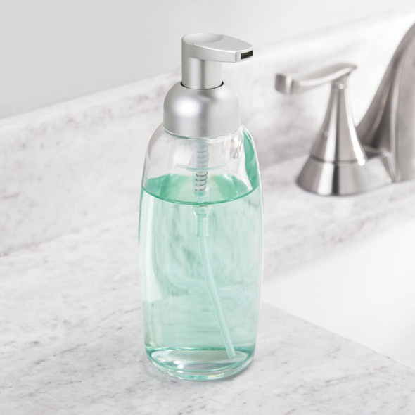 Glass Refillable Foaming Soap Dispenser Pump