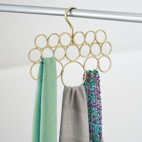 Hanging Accessory and Scarf Holder, Closet Organizer