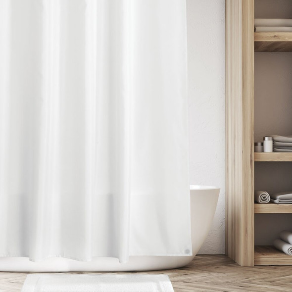 """Water Repellent Fabric Shower Curtain Liner - 72"""" x 72"""""""