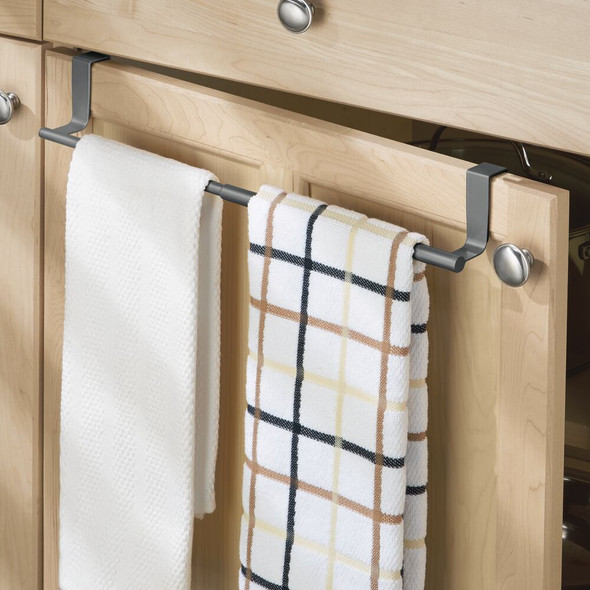 Expandable Over Cabinet Door Towel Bars for Home